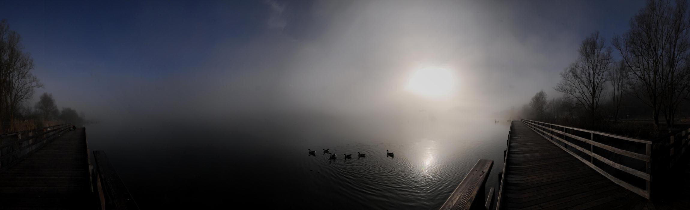 Lago di Fimon nei Monti Berici a Lapio di Arcugnano ...