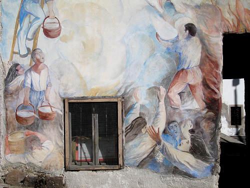 Foto dei murales di cibiana di cadore il paese che dipinge for Planimetrie delle case dei produttori di storia