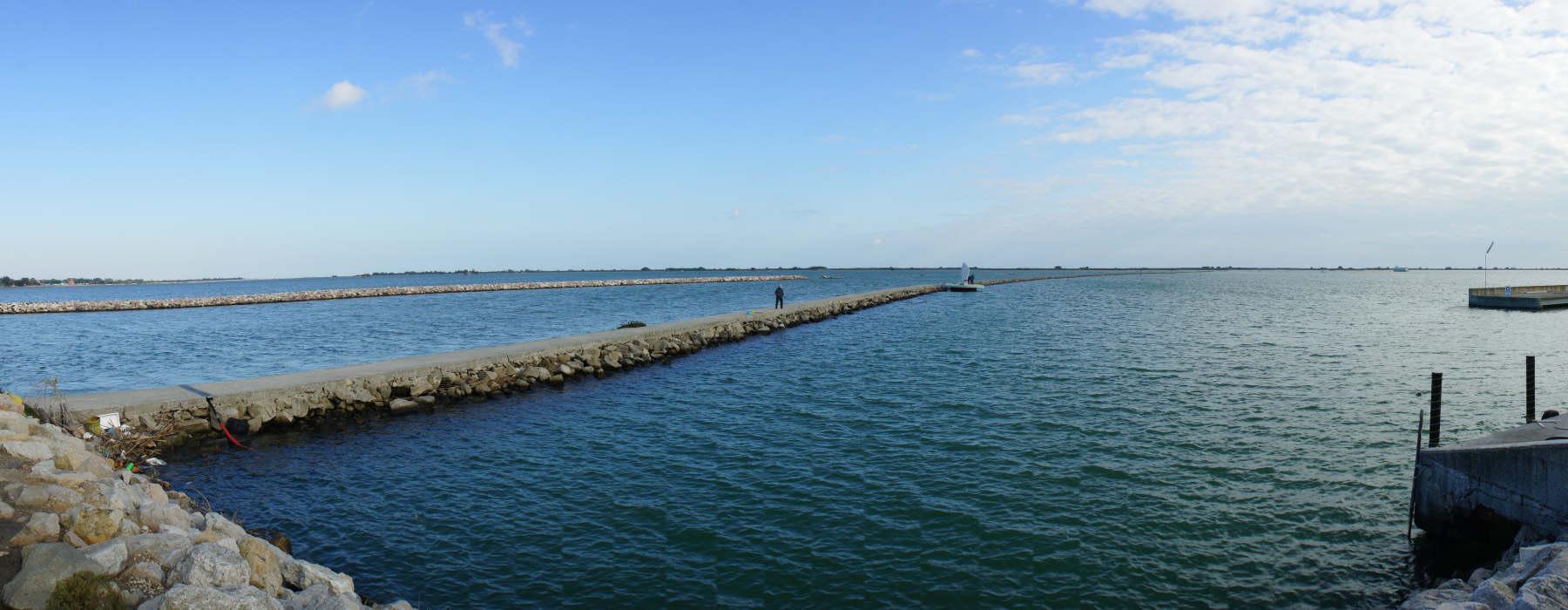 porto viro porto levante delta del po   foto panoramica