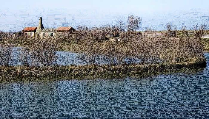 Porto Tolle Alla Foce Del Fiume Po Parco Naturale