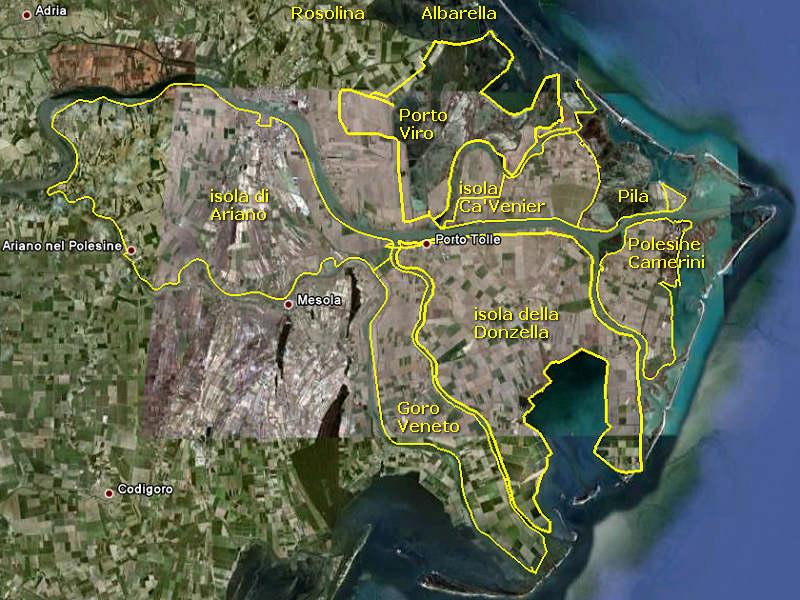Porto Tolle Giro In Bicicletta Attorno All Isola Di Ca