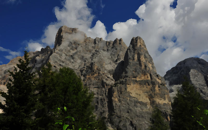sentieri Civetta Moiazze Fernazza Pelsa Agnelessa, Dolomiti