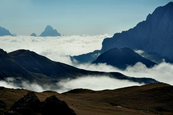Dolomiti   Passo Giau Mondeval De Sora Croda Da Lago