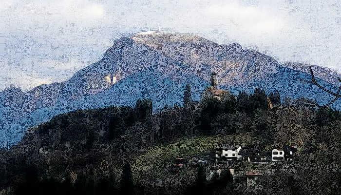 Lamon arina di lamon torrente valpora lago senaiga for Piani scozzesi della casa del castello dell altopiano