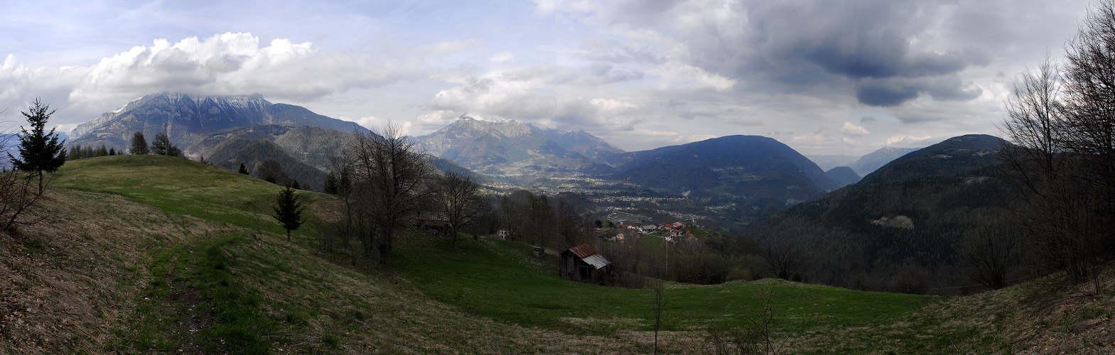 Toffoli Arina Di Lamon Monte Coppolo Vette Feltrine Fotografia Panoramica