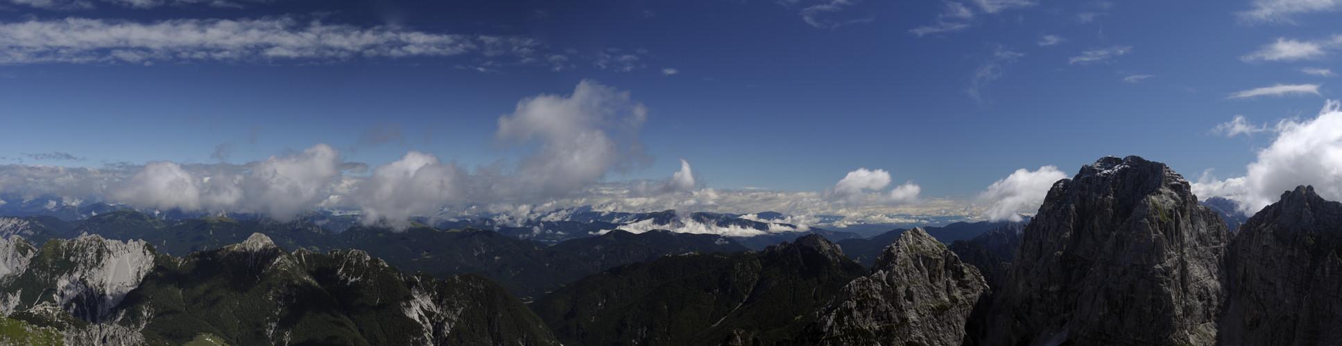 friuli val saisera alpi giulie   foto panoramica
