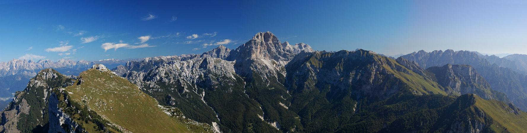 ... - Parco Naturale Regionale delle Dolomiti Friulane - foto panoramica: www.magicoveneto.it/Friuli/SP-Panoramiche/009-03_Borga.htm