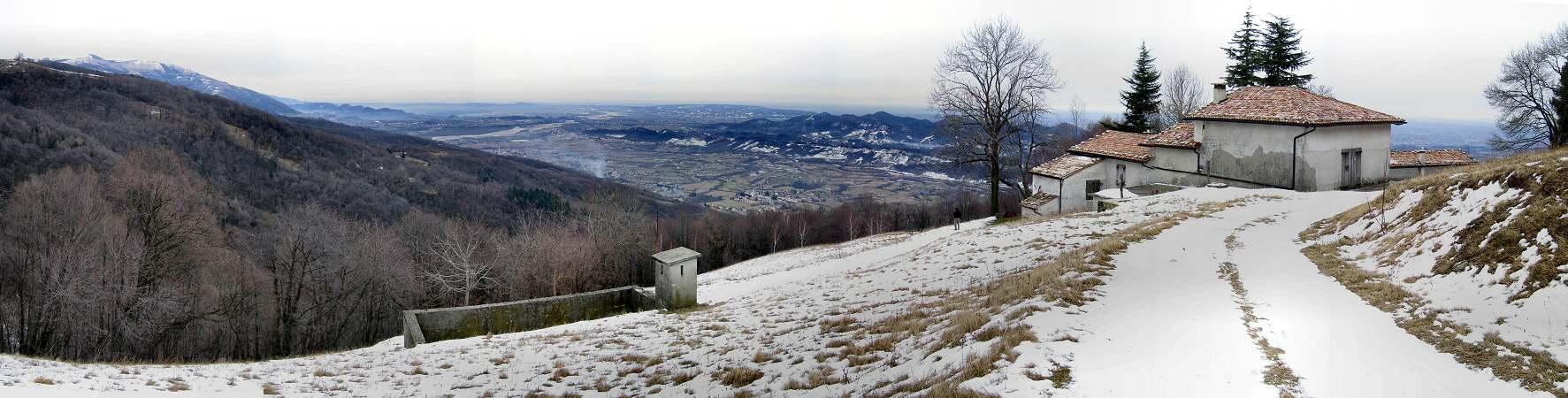 Valcavasia Malga Le Tombe Malga Doc A Cavaso Del Tomba Monte Grappa Fotografia Panoramica