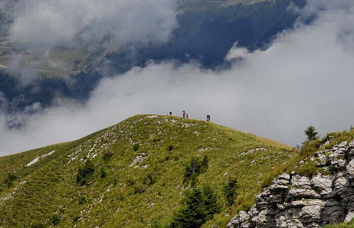Passo Del Brocon Escursione Al Monte Coppolo Per Malga
