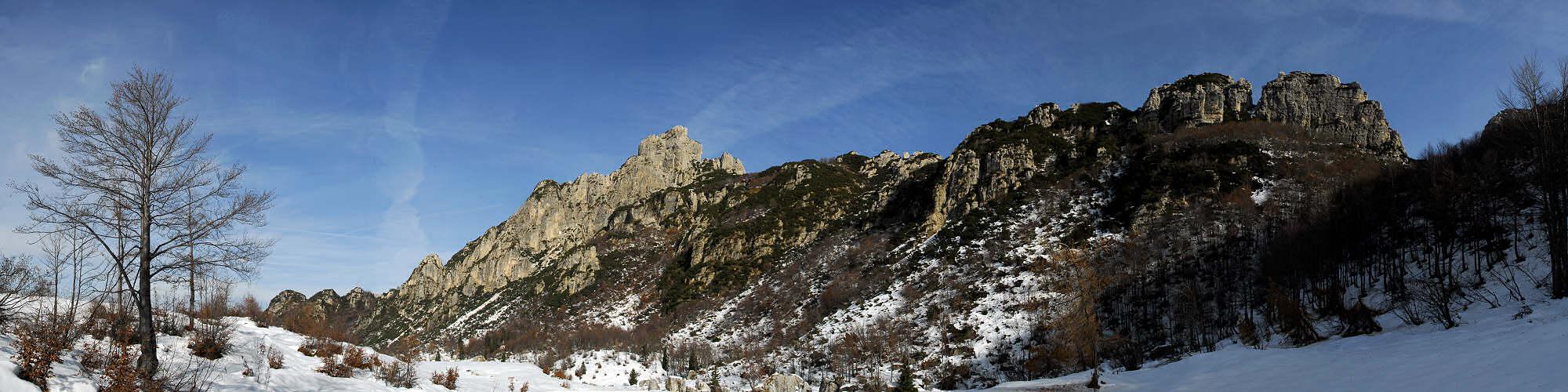 Pasubio Piccole Dolomiti Sengio Alto Monte Pasubio