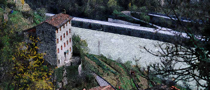Alta Via del Tabacco nel Canal di Brenta da Bassano a Costa