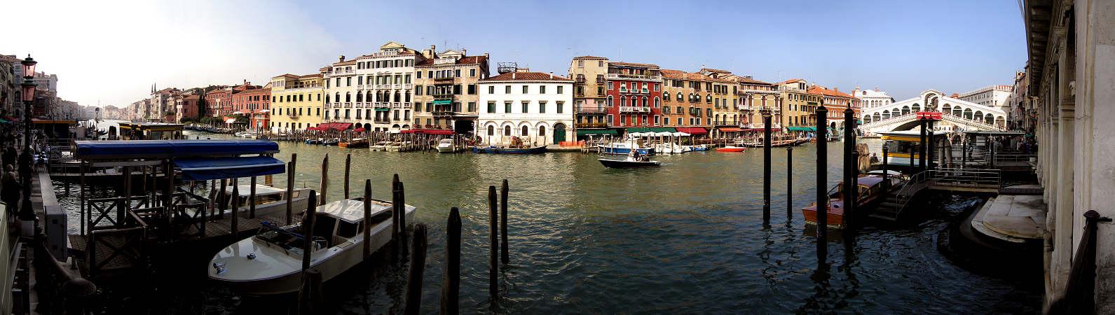 Foto panoramica di venezia