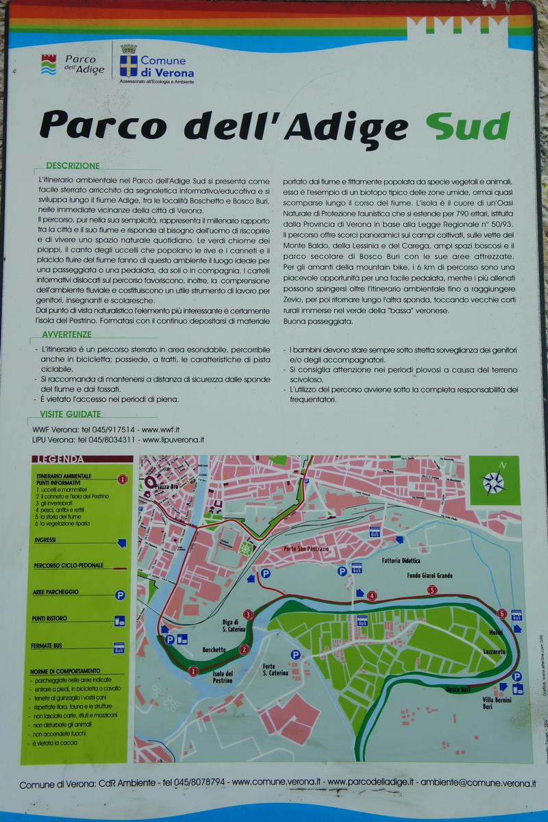 Adige Verona Percorso Cicloturistico Da Verona Lungo Gli