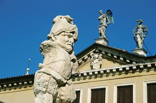 Giardino Alla Italiana : Villa valmarana ai nani a vicenza affreschi di gambattista