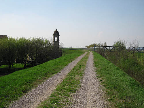 da Este a Montagnana lungo l'argine del canale Frassine
