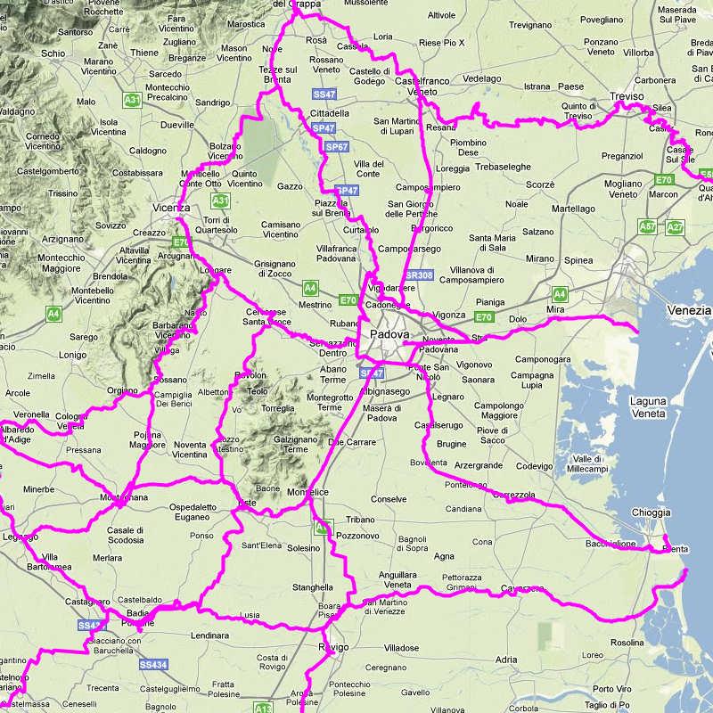 Piste ciclabili ciclovie cicloturismo bicicletta dolomiti for Meuble cortina quinto di treviso
