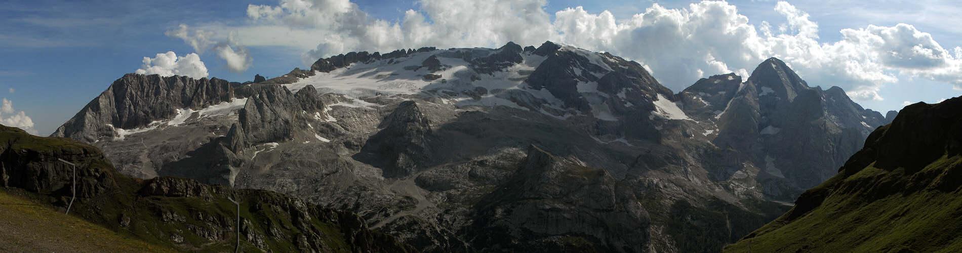 ... Porta Vescovo verso il ghiacciaio della Marmolada, foto panoramica: www.magicoveneto.it/Dolomiti/Marmolada/P01-Porta-Vescovo-vs...
