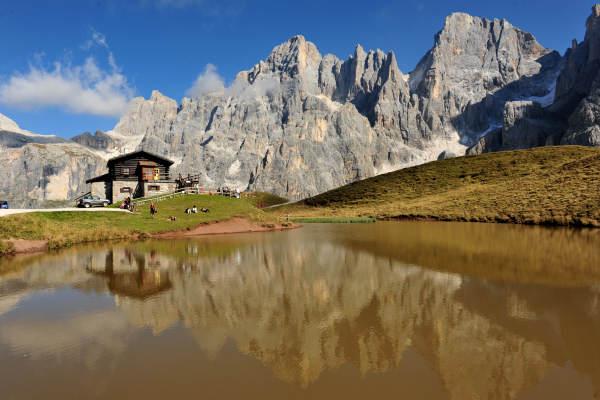 Dolomiti Trekking Del Cristo Pensante Al Monte Castellaz